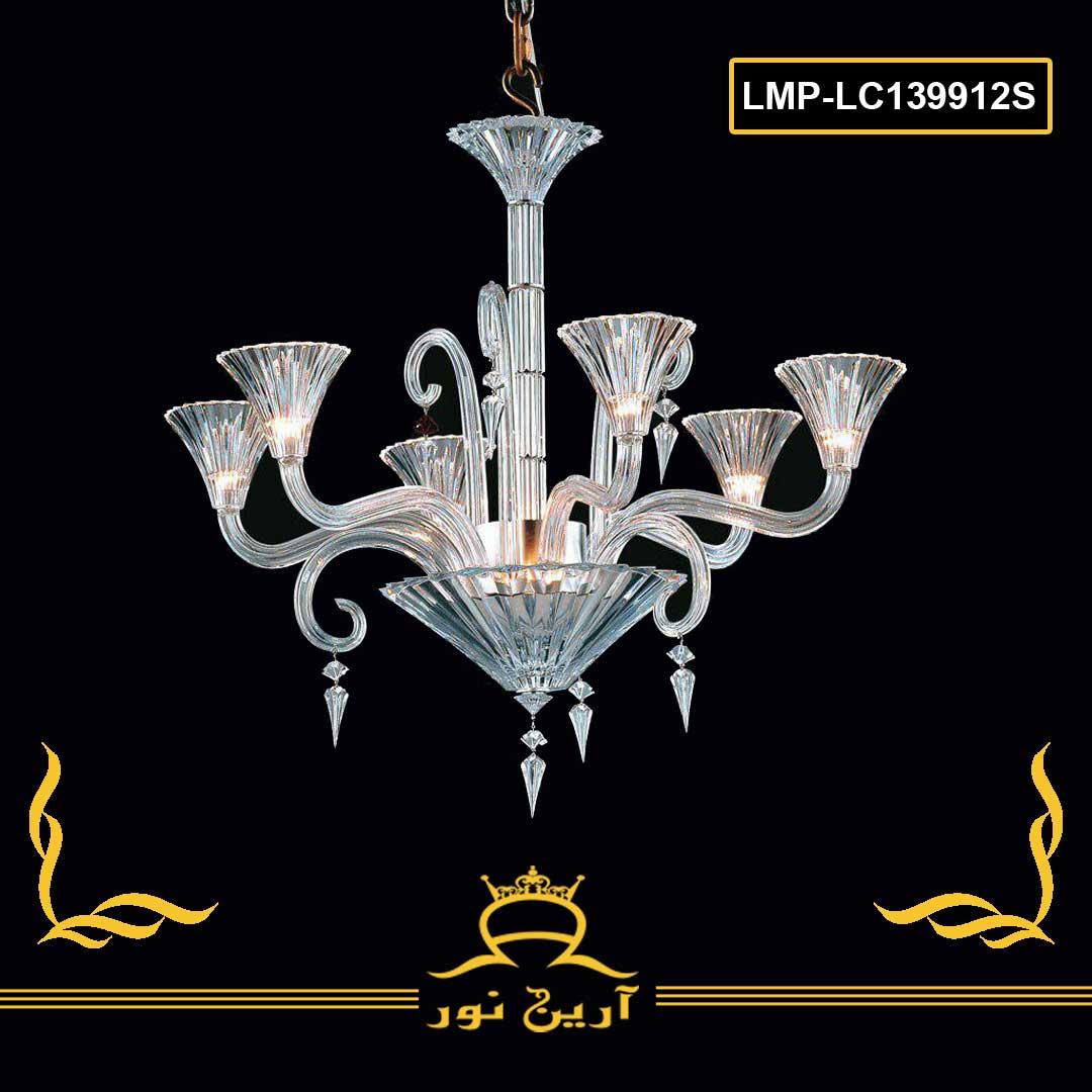 لوستر کریستال- 12 شاخه-کد LMP-lc68277-12S