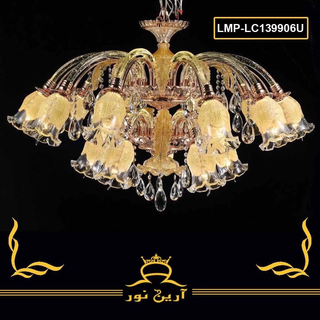 لوستر کریستال- 6 شاخه-کد LMP-lc77006-06U